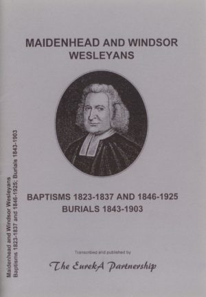 Maidenhead and Windsor Wesleyan Baptisms/Burials