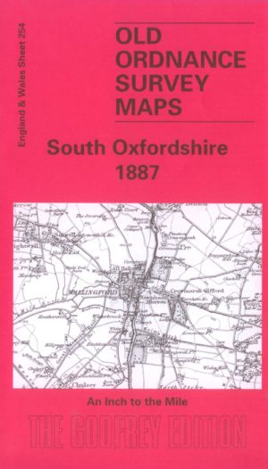 South Oxfordshire, One Inch Old Ordnance Survey Map, 1887