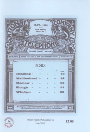 National Telephone Company Directory, Berkshire, May 1894