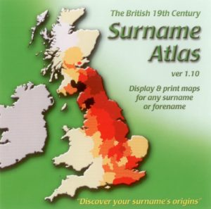 Surname Atlas, British 19th Century CD