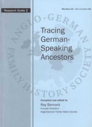 Tracing German Speaking Ancestors