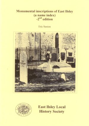East Ilsley: Monumental Inscriptions of,  A Name Index