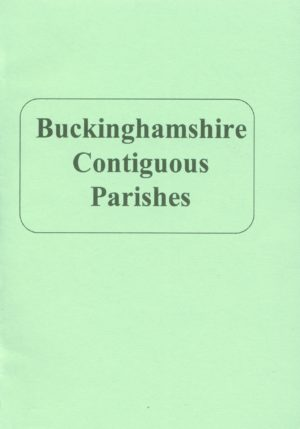 Buckinghamshire Contiguous Parishes