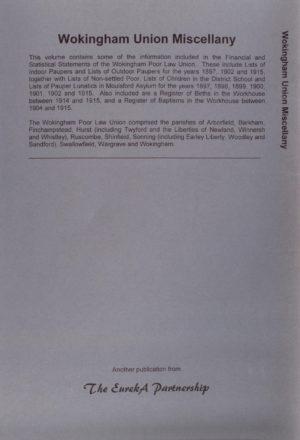 Wokingham Union Miscellany