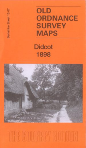 Didcot, Old Ordnance Survey Map, 1898