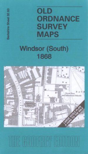 Windsor (South) Old Ordnance Survey Map 1868