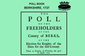 Poll books and Electoral Registers