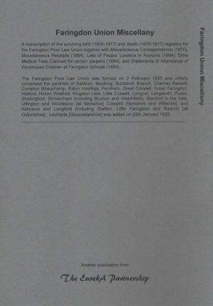 Faringdon Union Miscellany