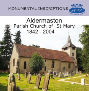 Aldermaston, St Mary the Virgin, Monumental Inscriptions (CD)