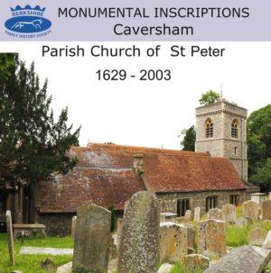 Caversham, St Peter, Monumental Inscriptions (CD)