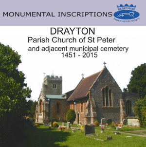 Drayton, St Peter, Monumental Inscriptions 1451-2015 (CD)