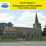 Peasemore, St Barnabas Parish Registers