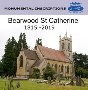 Bearwood, St. Catherine Monumental Inscriptions 1815 – 2019 (CD)